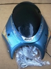 R1150R Givi Airstars Shield W/Mounts - Atlantic Blue
