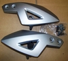 R1150R Rockster Left & Right Front Panel Carriers (Headlight Mount Brackets), Silver