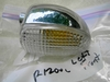 R1200C Left Front or Right Rear Chrome Turn Signal, Clear Lens