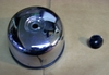 R1200C Speedometer Rear Cover, Chrome