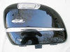 R1200CL Left Saddlebag Lid, Black W/Chrome Trim