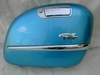 R1200CL Right Side Saddlebag Lid, Capri Blue W/Chrome