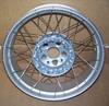 R1200GSW & R1200GSW ADV Rear Spoke Wheel, Silver, 4.5X17""
