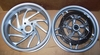 R1200S/ RT/ R/ST Complete Wheel Set, Silver