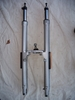 R850/1100R/RT Complete Forks, Upper And Lowers W/Lower Bridge & Ball Joint