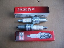 Set Of 2 Champion N9YC ( Same As Bosch W7DC) Spark Plugs