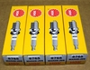 Set of 4 NGK MAR8B-JDS Spark Plugs for all R1200  Camhead Bikes From 2010 On (R1200R From 2011 On)