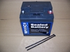 Westco AGM Sealed Battery, 12V/30AH W/Longer Bolts For 2V K75/100 Bikes