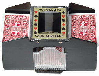 4 Deck poker card automatic shuffler