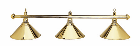 "55"" Brass Pool Table Light"