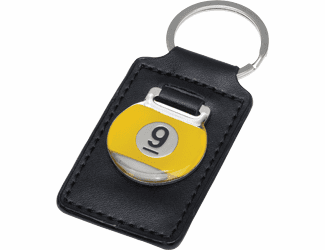 9-Ball Leather Key Holder