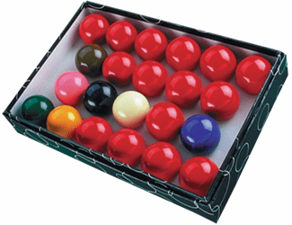 "Action 2 1/8"" Snooker Balls Set - No Numbers"