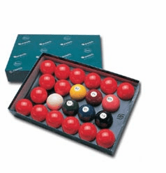 Aramith 2 1/4 Numbered Snooker Balls Set