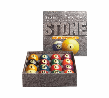 Aramith Stone Collection Pool and Billiard Balls Set