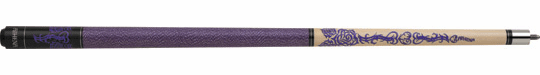 Athena ATH31 Purple Tribal Key Women's Pool Cue