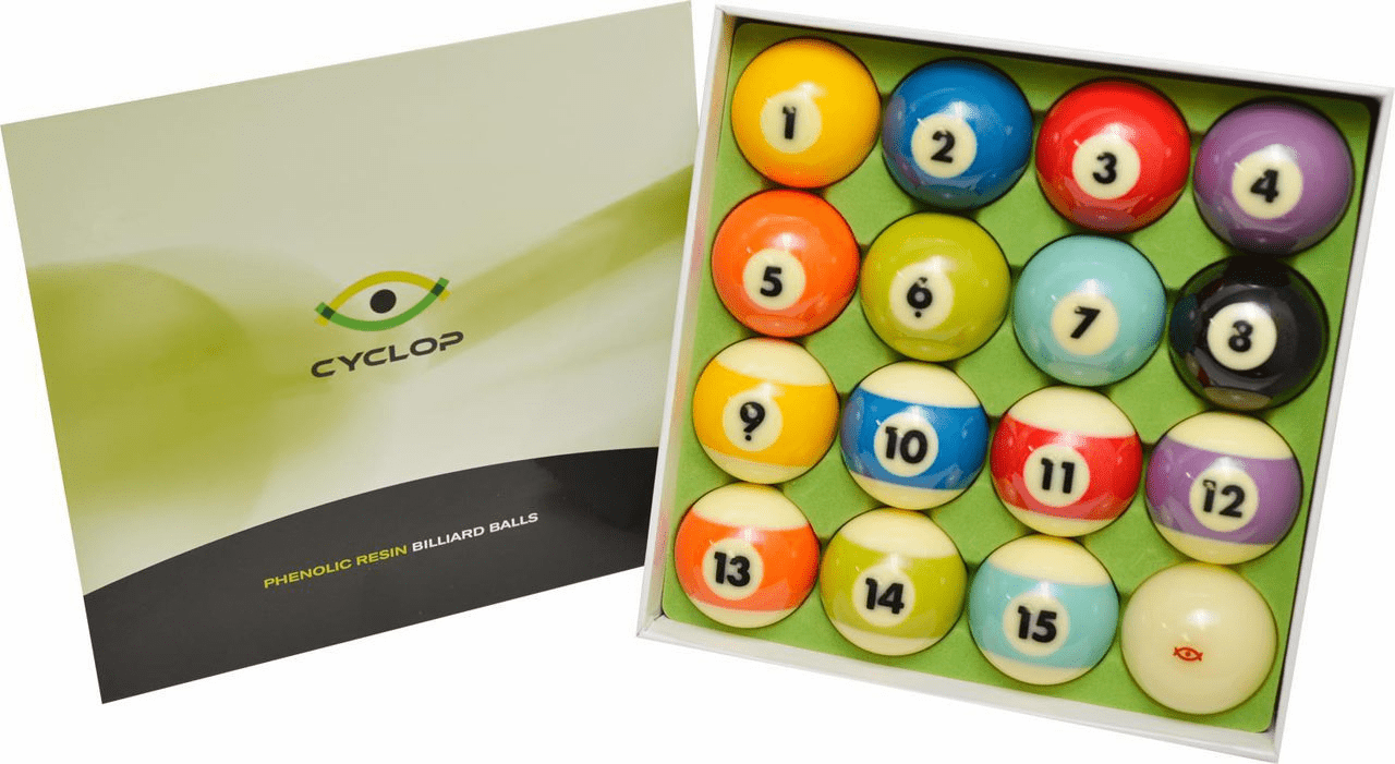 Cyclop Professional TV Tournament Pool Ball Set-In Stock Soon!