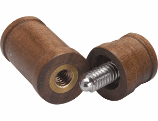 Exotic Wood Joint Cap - Male Only