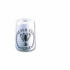 Silver Cup Cone Chalk-6 Pack
