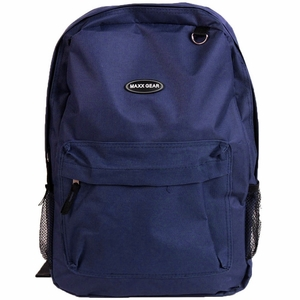 17 inch Backpack Navy Blue