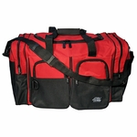 18 inch Duffel Bag red