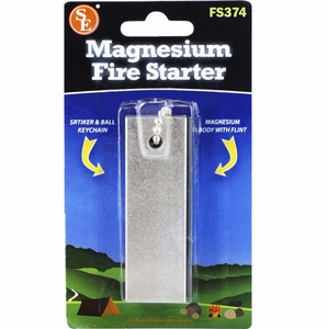 Magnesium Fire Starter - pack of 4