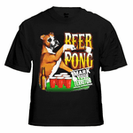 """Beer Pong """"Mark Your Territory"""" T-Shirt"""