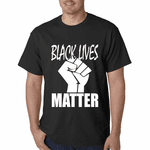 Black Lives Matter Fist Men's T-Shirt
