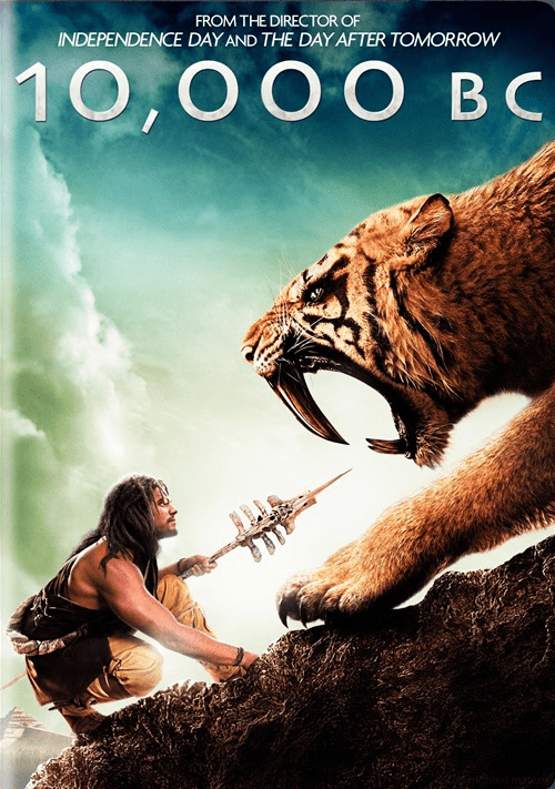 10,000 BC DVD Movie