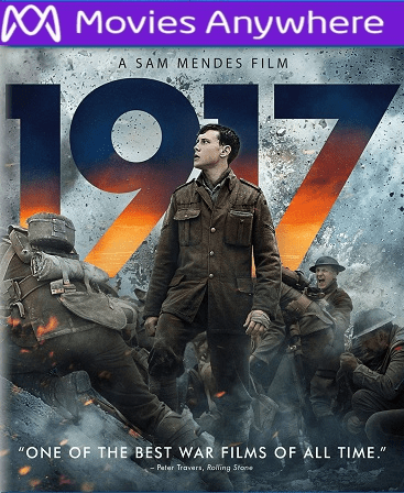1917 HD Vudu or iTunes Code via MA