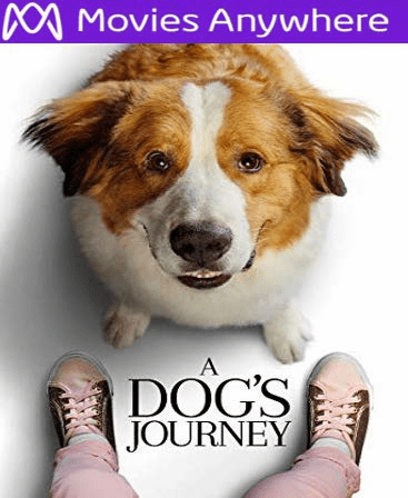 A Dog's Journey HD Vudu or iTunes Code via MA