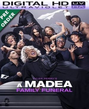 A Madea Family Funeral HD VUDU UV Code (PRE-ORDER WILL EMAIL ON OR BEFORE BLU RAY RELEASE)