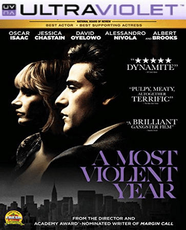 A Most Violent Year SD Digital Ultraviolet UV Code