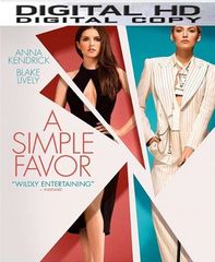 A Simple Favor HD UV or iTunes Code
