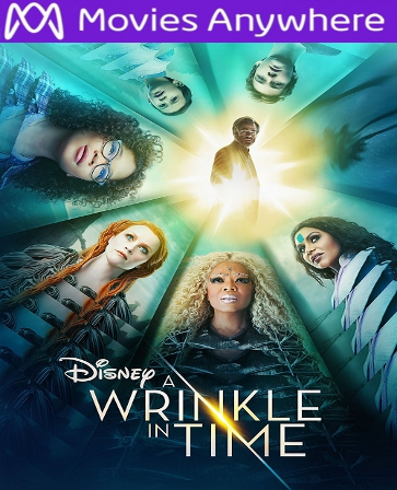 A Wrinkle in Time HD UV or iTunes Code Via MA