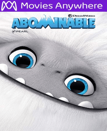 Abominable HD Vudu or iTunes Code via MA