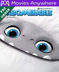 Abominable HD Vudu or iTunes Code via MA (PRE-ORDER WILL EMAIL BETWEEN Dec 18-20)