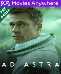 AD Astra HD Vudu or iTunes Code via MA (PRE-ORDER WILL EMAIL BETWEEN Dec 17-20)