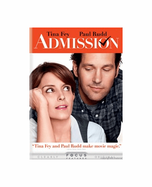 Admission DVD Movie