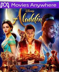 Aladdin (2019) HD Vudu or iTunes Code via MA