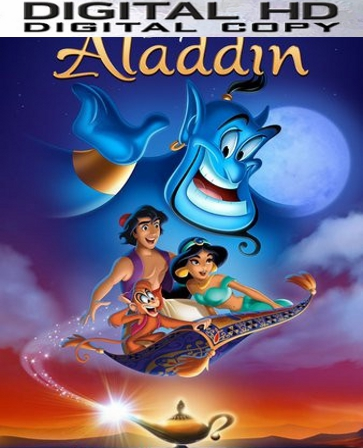 Aladdin HD Digital Copy Code (VUDU ONLY)