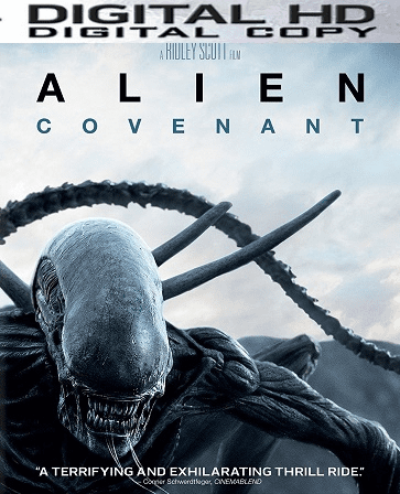 Alien: Covenant HD Ultraviolet or iTunes Code