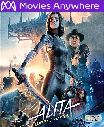 Alita: Battle Angel HD Vudu or iTunes Code via MA