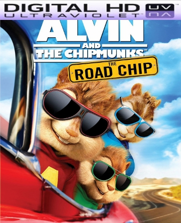 Alvin and the Chipmunks The Road Chip HD Digital Ultraviolet UV Code