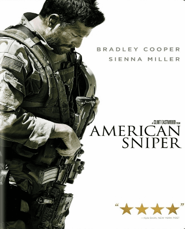 American Sniper DVD Single Disc