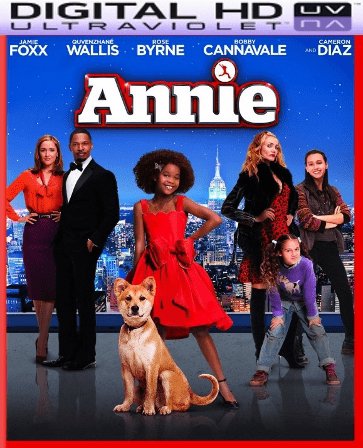 Annie HD Digital Ultraviolet UV Code