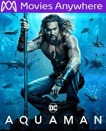 Aquaman HD UV or iTunes Code via MA