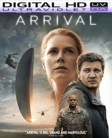 Arrival HD Digital Ultraviolet UV Code