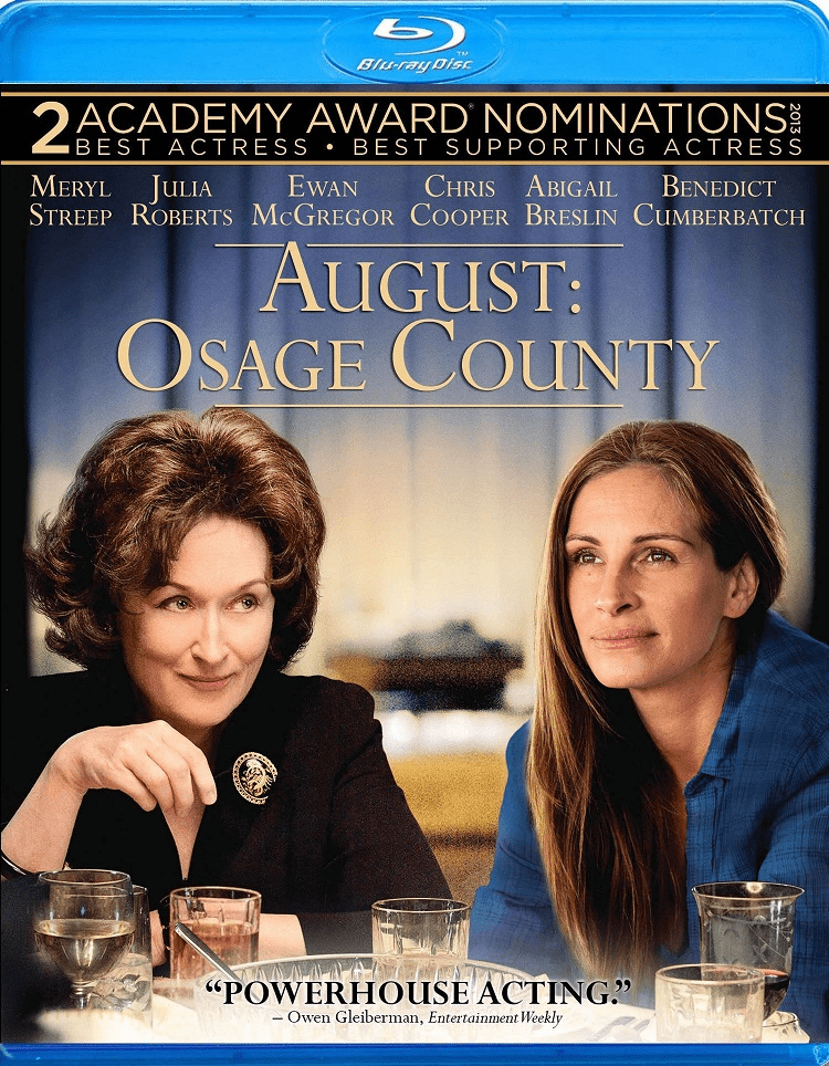 August: Osage County (Blu-ray + DVD + Ultraviolet HD)