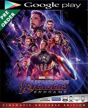 Avengers: Endgame HD Google Play Code (PRE-ORDER WILL EMAIL ON OR BEFORE BLU RAY RELEASE)