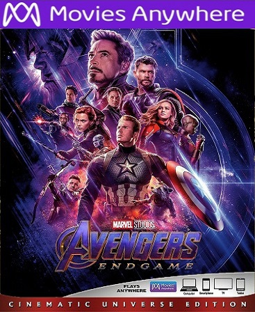 Avengers: Endgame HD Vudu or iTunes Code via MA